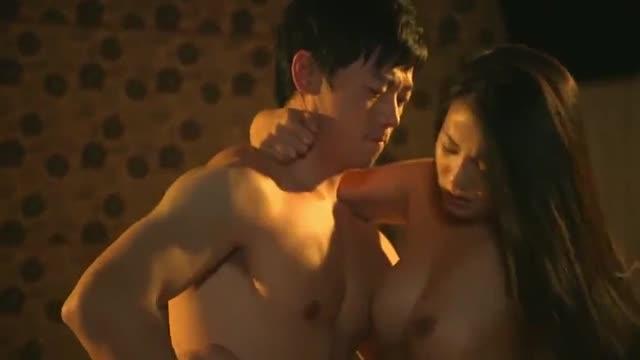 อีโรติคเกาหลี มีเซ็กส์ในร้านกาแฟ Sexy tan skin girl Erotic อีโรติก