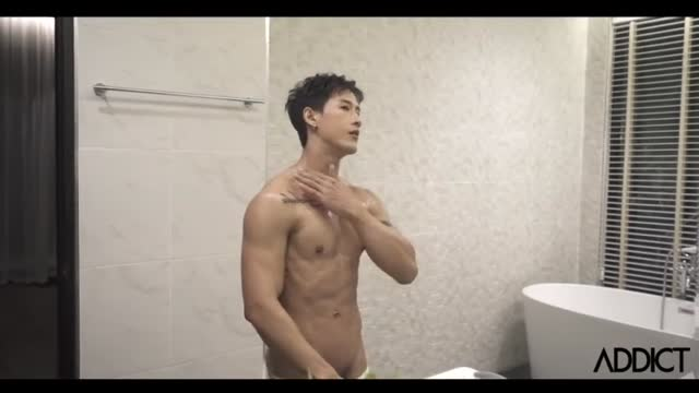 หนังavเกย์เอเชีย addict magazine issue เกย์ช่วยตัวเองนอนชักว่าวจนน้ำพุ่งออก หล่อล่ำควยงอขวัญใจเกย์บอยxxx