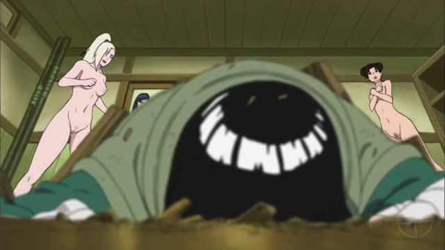 Naruto Hentai ส่องสาวสวยนินจานารูโตะอาบน้ำอ่างรวม 18+