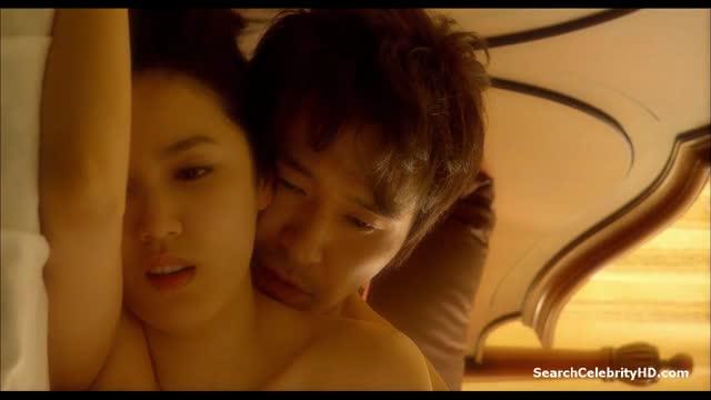 Rate R ดูหนังอีโรติกxxxเกาหลี Natalie นาตาลี เล่นจริงเย็ดจริงโดยนางเอก Park Hyun-jin โดนเล้าโลมด้วยการดูดคอขยำนม จึงจับกระเด้าหีแบบนุ่มนวล