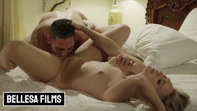 Bellesa Films หนังเอ็กส์ฝรั่ง Porn 4K ความเงี่ยนพุ่งกระฉูดต้องปลุกแฟนมาเย็ด Aj Applegate เข้าไปนัวเนียคลอเคีย แล้วใส่ไม่ยั้งกระแทกหีเน้นๆชุดใหญ่ให้แฟนหายเงี่ยน
