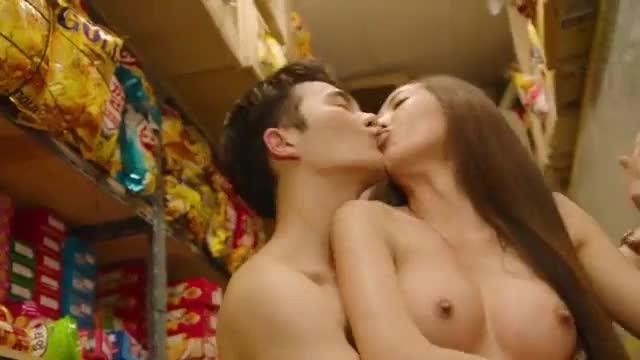 ล่อกันในร้านสะดวกซื้อ ช็อตเด็ด หนังavเกาหลีใต้ สาวสวยหุ่นนางแบบเล่นเซ็กกับพนักงานหนุ่มหล่อ เย็ดหีโคตรมัน