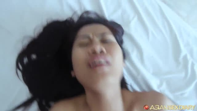 AsianSexDiary สาวไทยใส่เดี่ยวกับดาราหนังโป๊ฝรั่งควยใหญ่มาก โดนแทงไปหน้าเป็นอย่างนี้เลย