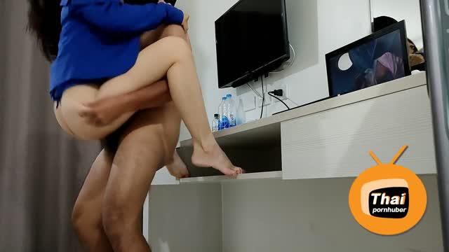 Fuck after Work เสียงไทย ถ้ารักหนูจริงต้องลิงอุ้มแตง กระแทกไปเรื่อยๆค่ะ อย่าหยุด ชอบมากเลยค่ะท่านี้